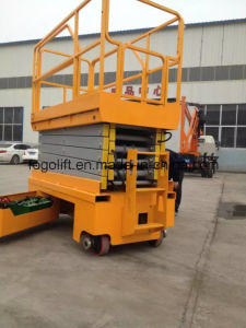 Hot Sale Self-Propelled Hydraulic and Electric Driven Aerial Work Platform pictures & photos