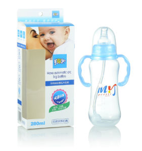 10oz PP Vacuum Flask Feeding Bottle Adult Baby Milk Bottles Mix Colors pictures & photos