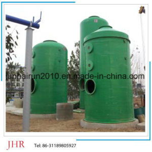 FRP Waste Gas Purification Gas Scrubber Tower Manufacturers pictures & photos