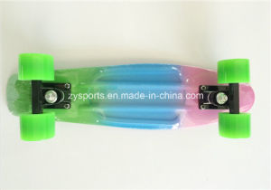 Three Colors Painted Penny Boards