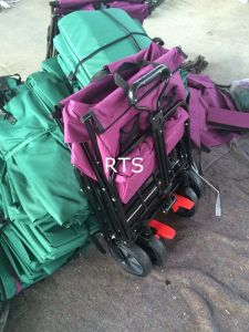 Folding Stroller Kids Wagon Folding Trolley pictures & photos
