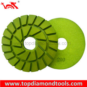 Double Row Resin Bond Floor Polishing Pads with Diameter 125mm pictures & photos