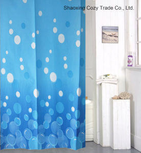 Home Design Polyester Shower Curtain pictures & photos