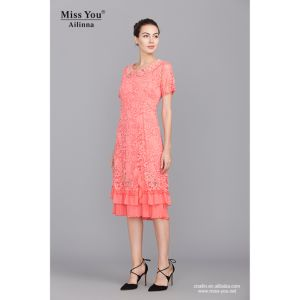 Miss You Ailinna 102133 Red Elegant Long Dress with Chiffon OEM Dress pictures & photos