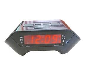 0.6 Inch Pll Am/FM LED Alarm Clock Radio Receiver