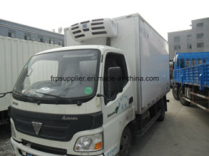 Refrigerator Box Truck Truck Cooling Box Insulated Truck Body Sandwich Panels Aluminium Fish Transport Refrigerator Truck pictures & photos