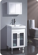 MDF Bathroom Cabinet with Mirror Cabinets pictures & photos