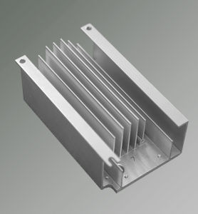 High Quality Extruded Aluminum Heatsink, 6061-T6 pictures & photos