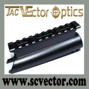 Vector Optics Shock Proof Aluminum See Through Picatinny Sks Steel Picatinny Rail Mount in Precision pictures & photos