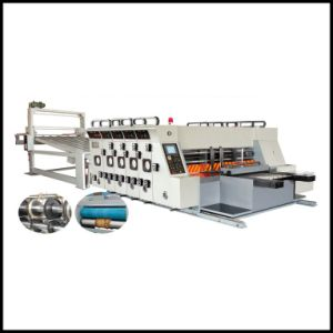 Corrugated Carton Box Flexo Slotting and Die Cutting Printing machine pictures & photos