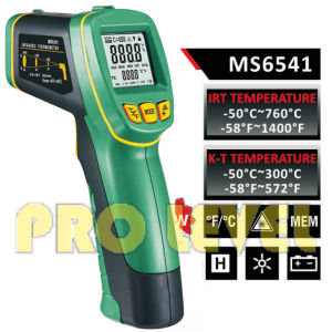 Pfofessional Accurate Non-Contact Infrared Thermometer (MS6541) pictures & photos