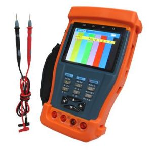 3.5 Inch LCD CCTV Camera Tester, Digital Multimeter, Video Signal, Audio Testing pictures & photos