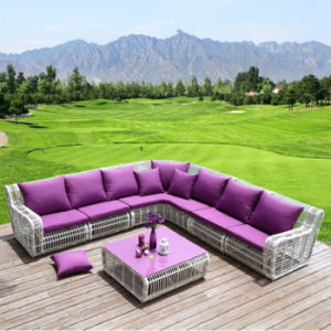 2017 Chinese Manufacturer Cheap Rattan Outdoor Sofa S224 pictures & photos