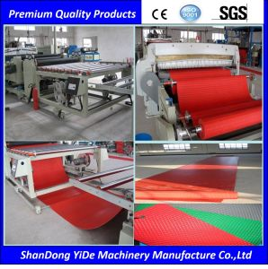120cm PVC Bathroom Carpet Plastic Extrusion Making Machine pictures & photos