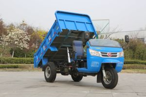 Chinese Diesel Dump Waw Three Wheel Tricycle for Sale pictures & photos