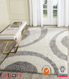 Natural Area Rugs Passion Polyester Shag Carpet 5′x8′ Inches or Customized pictures & photos