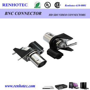 BNC Female Right Angle Black Plastic Housing RF Connector pictures & photos