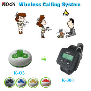 Cheap Restaurant 433MHz Wireless Waiter Call System with CE Approval pictures & photos