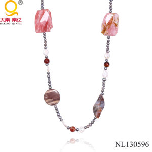 Fashion Pearl and Stone Necklace in China Manufacturer pictures & photos