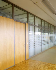 Glass Partition Systems/Office Glass Wall pictures & photos