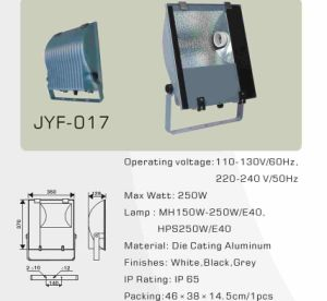 Flood Lighting Fixture (MH150W/250W E40) pictures & photos