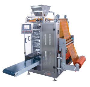 Granule Filling Machine with Four Side Sealing Pouch and Ss316 pictures & photos