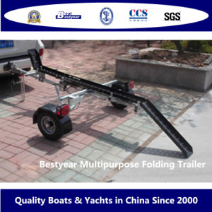 Multipurpose Folding Trailer (MFT) for Boat and Motorcycle pictures & photos