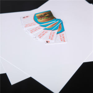 Offset Printable PVC Sheets for Non-Fluorescence Cards (PVC-ADE) pictures & photos