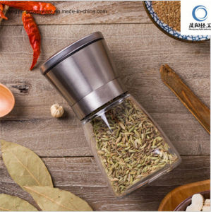 Glass Pepper Mill/Hand Operated Grinder pictures & photos