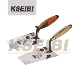 Building Construction Hand Tool Kseibi Square Tip Bricklaying Trowel pictures & photos