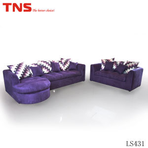 Furniture Fabric Sofa (LS431) for Promotion