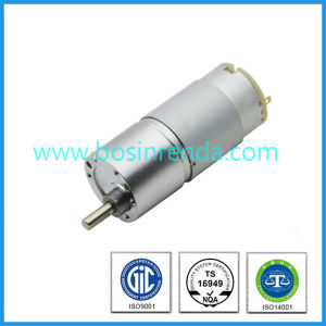 12V DC Motor with Gearbox Gear Reduction and Encoder for Robot pictures & photos