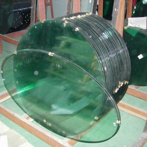 8.76mm Round Tempered Laminated Glass for Table pictures & photos