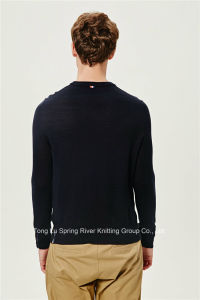Acrylic Wool Pullover Knit Sweater for Men pictures & photos
