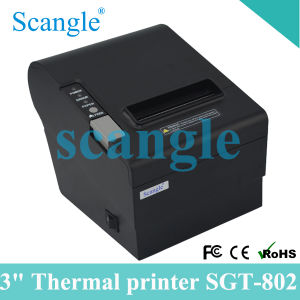 Scangle Sgt-802 Thermal Receipt Printer with Auto-Cutter pictures & photos