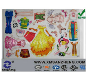 Full Color Water Resistant Glossy Freezer Resistant Decorative Magnetic Labels pictures & photos