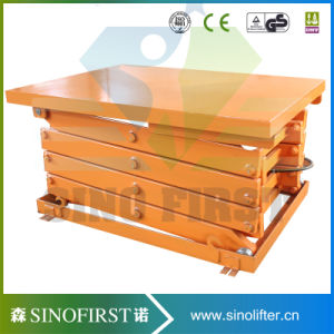 Lifting Platform Hydraulic Stationay Scissor Lift for Aerial Working pictures & photos