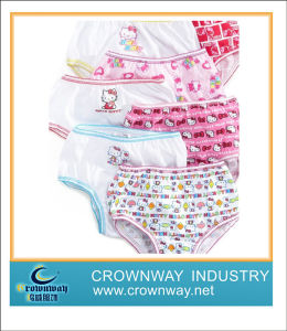 100% Cotton Cute Baby Underwear for Girl pictures & photos