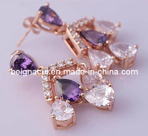 Latest Model Fashion Earrings Shinny Stone