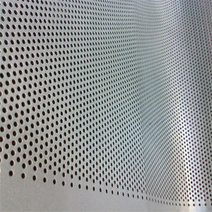 Low Carbon Perforated Metal Sheet Manufacturer pictures & photos