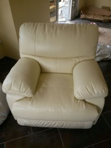 China High Quality Soft Feeling Leather Recliner Sofa Rocky Sofa