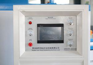 PVC Shutter Doors Hot Vacuum Forming Pressing Laminating Machine for Door Panel with PVC/ Veneer/ Film pictures & photos