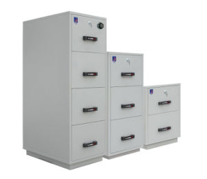 1hr Fire Resistant Filing Cabinet, High Tech Vertical Steel Cabinets pictures & photos