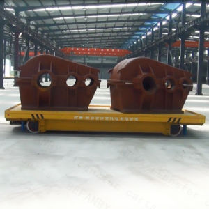 Motorized Industry Use Transfer Cart for Metal Industry on Rails pictures & photos