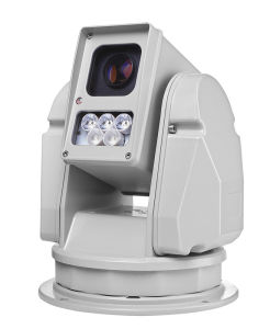 Vehicle-Mounted CCTV PTZ with Optional Laser Light or IR Light pictures & photos