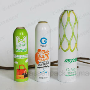 Aluminum Aerosol Spray Bottle for Kitchen Ware Cleaner (PPC-AAC-028) pictures & photos