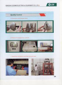 160kn Y-Clevis for Deadend Suspension Insulator pictures & photos