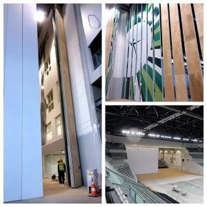 Soundproof Movable Walls for Exhibition Hall and Conference Hall pictures & photos