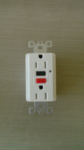 15A 125V American Type Newest GFCI with Wallplate pictures & photos