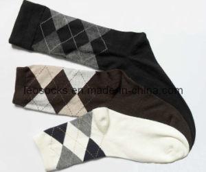 Men Cotton Argyle Socks (DL-MS-64) pictures & photos